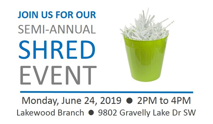2019 Shred Event